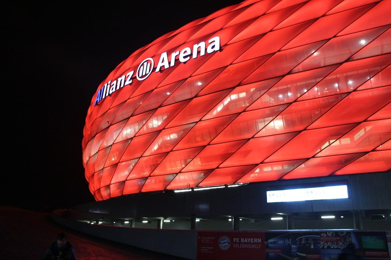 Allianz Arena, lo stadio di Monaco
