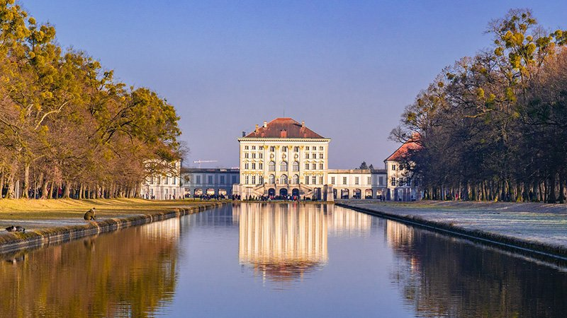 castello di nymphenburg monaco di baviera