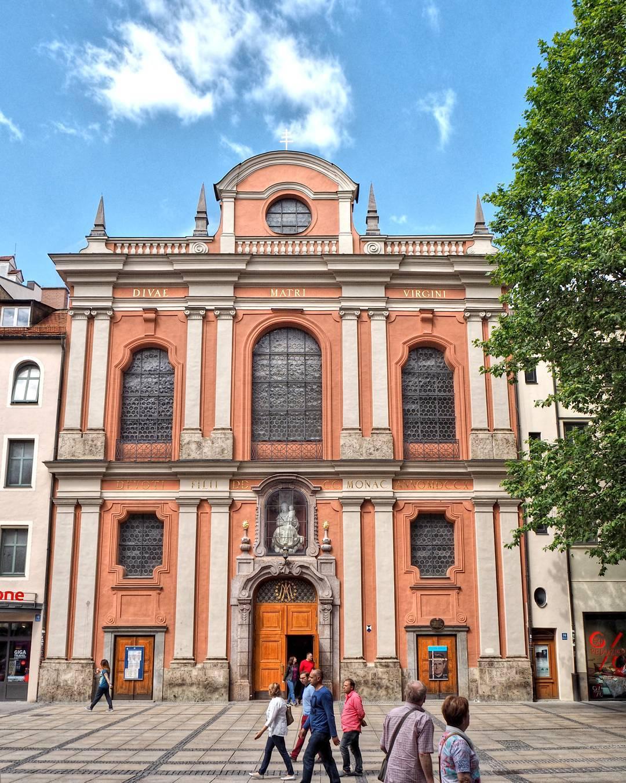 chiesa Bürgersaalkirche di monaco di baviera