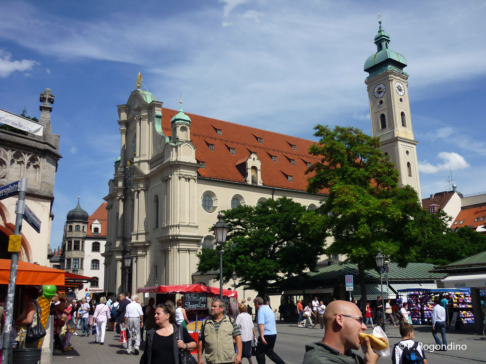 Heilig Geist Kirche monaco di baviera