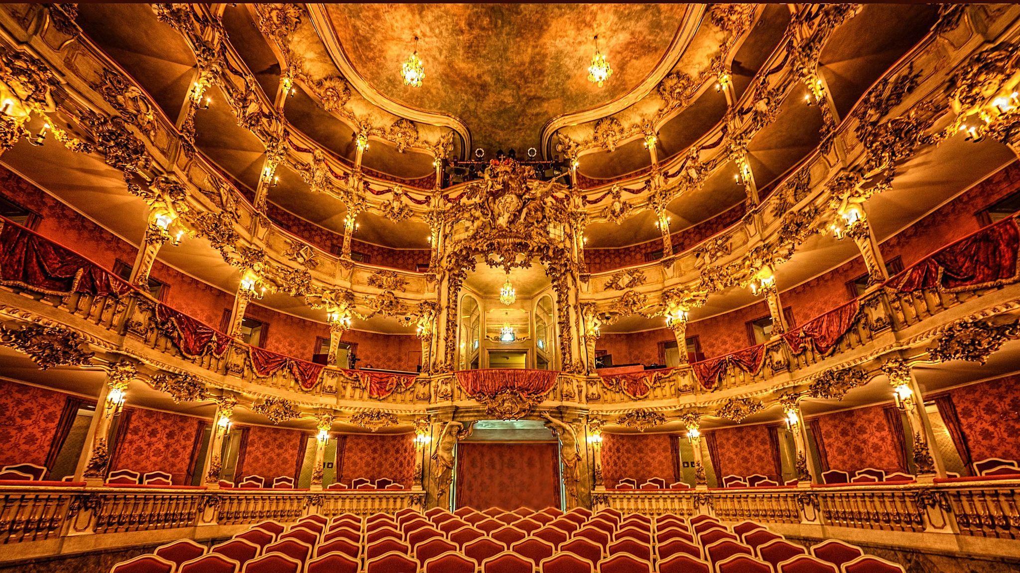 Cuvilliés Theater, il teatro del residenz di monaco di baviera