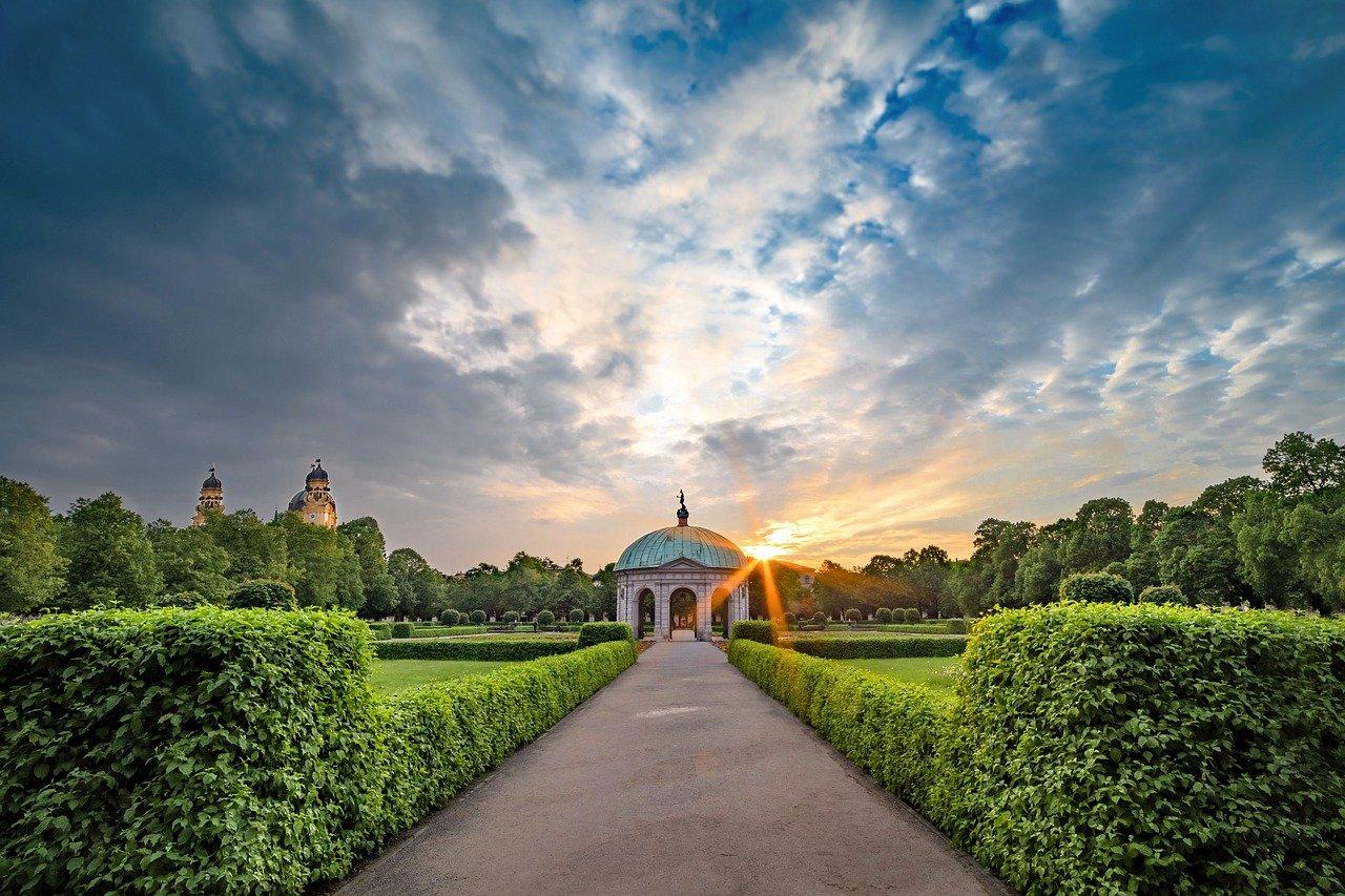 Hofgarten, il giardino reale di monaco di baviera