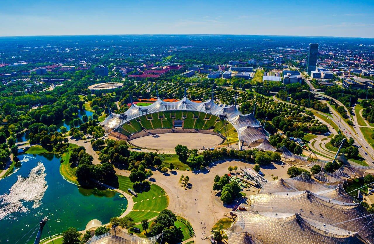 olympiapark, il parco olimpico di monaco di baviera