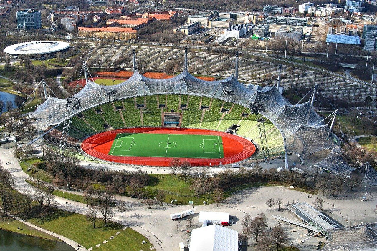 olympiastadion, il vecchio stadio olimpico di monaco di baviera