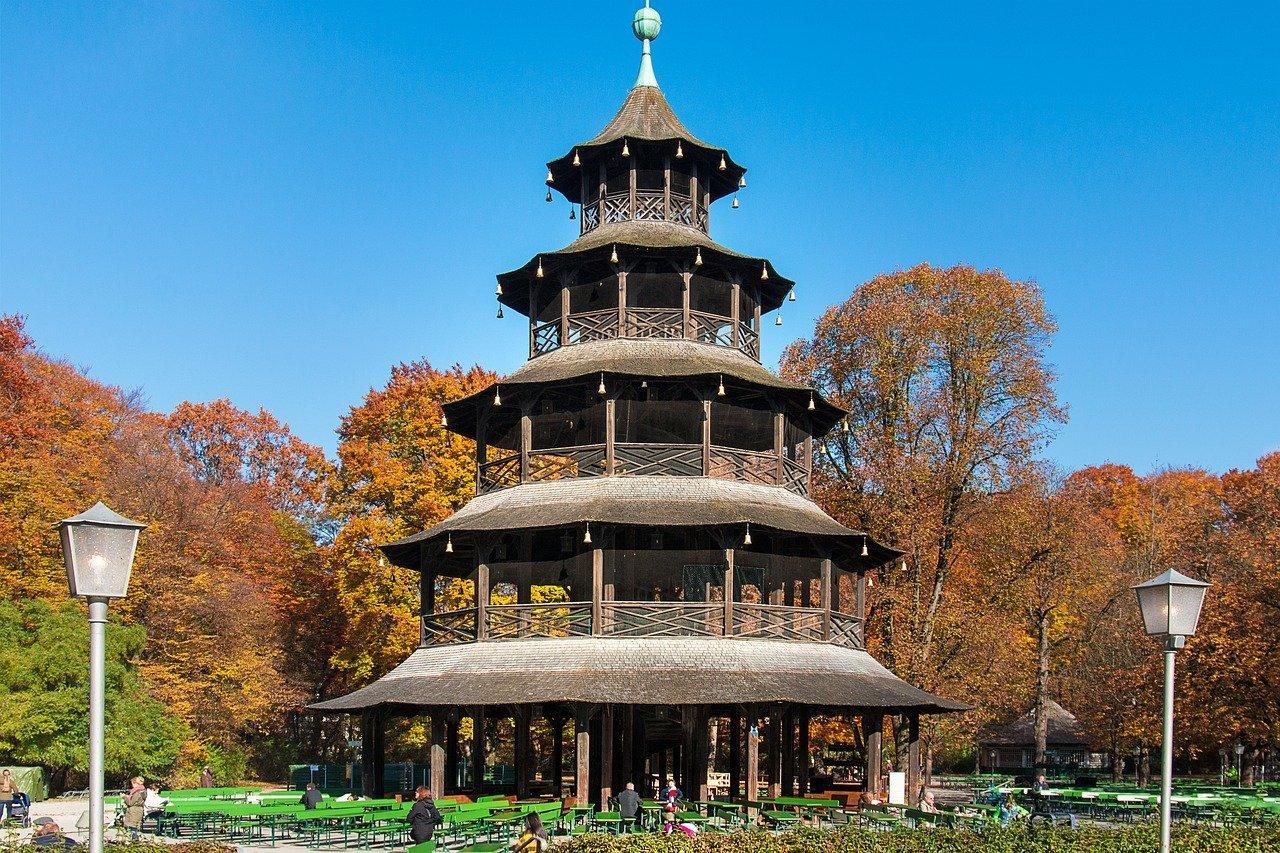 Torre cinese dell'Englischer Garten