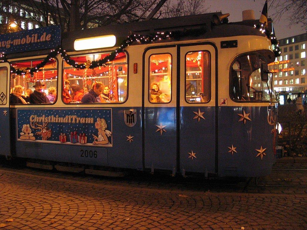 ChristkindlTram, il tram di Natale