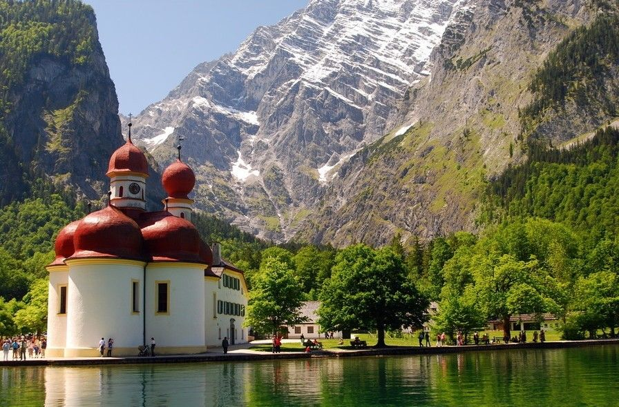 Lago Königssee Monaco di Baviera