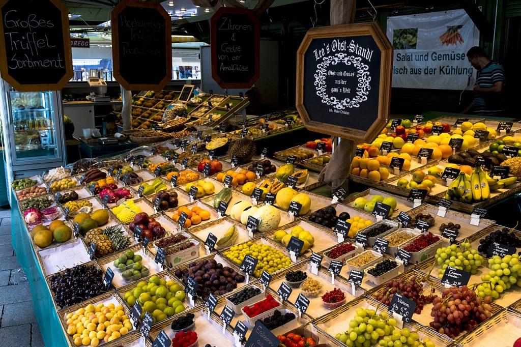 mercato degli agricoltori di monaco di baviera