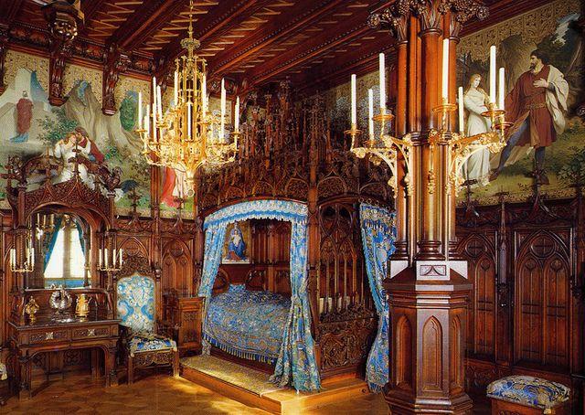 camera da letto neuschwanstein