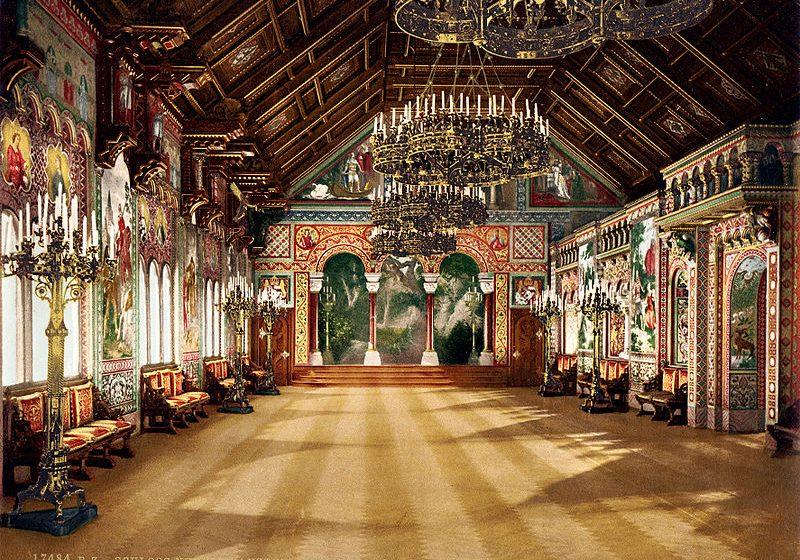 sala cantori castello neuschwanstein