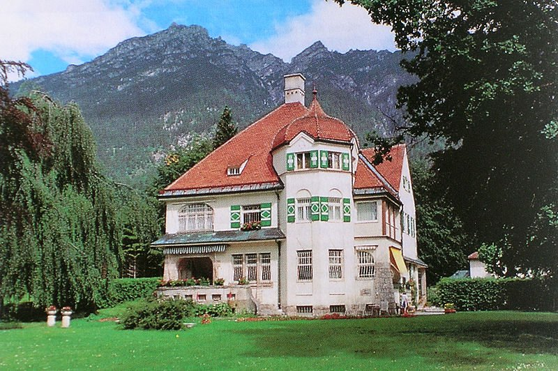 villa richard strauss garmisch